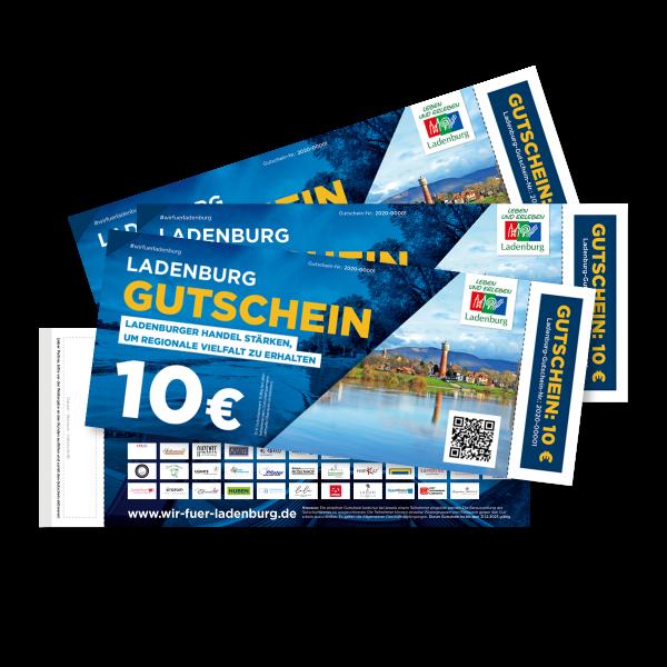 Ladenburg Gutschein – Motiv Ladenburg Neckar